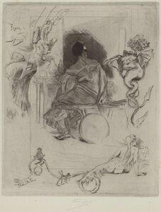 Félicien Rops, 'La Dernière Maja', 1880