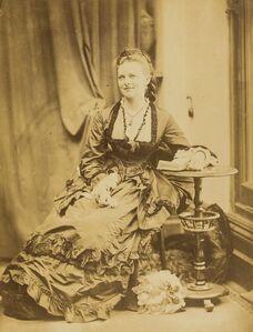 Oscar Gustav Rejlander, 'Portrait of Edith Woolcott', ca.1874