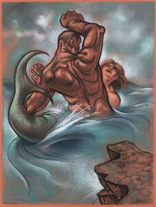 Peter Howson, 'The Last Mermaid III', 1997