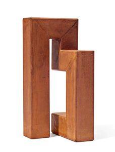 James Licini, 'Stahlbau', 1998