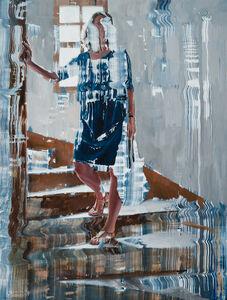 Dénesh Ghyczy, 'Thin Blue Pulse', 2016