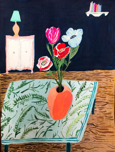 Polly Shindler, 'Flowers on the Table ', 2020