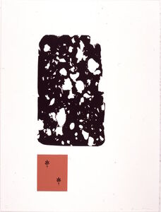 "James Brown, 'Deux Palmettes (from the portfolio ""The Frozen Leopard"" I)', 1991"