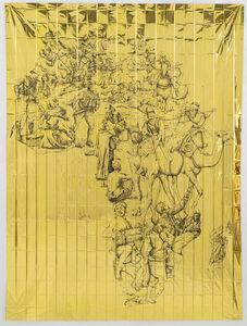 Pietro Ruffo, 'Gold Migration, Africa', 2019