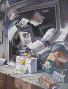 Robert Birmelin, 'Intellectual Baggage', 1995