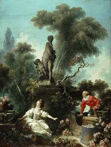 Jean-Honoré Fragonard, 'The Meeting (from the Loves of the Shepherds)', 1771-1773