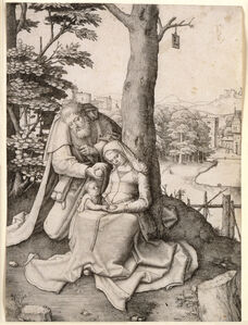 Lucas van Leyden, 'The Holy Family', 1507