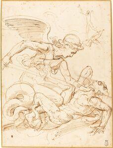 Giulio Romano, 'Saint Michael', ca. 1530