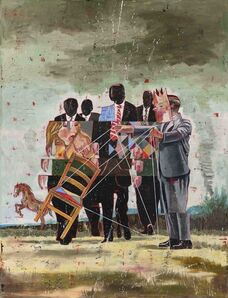 Nicky Nodjoumi, 'Approaching Masked Carnival', 2020