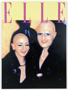 Eva & Adele, 'Mediaplastic no. 8', 1991