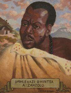 George Pemba, 'Umhlekazi U-Hintsa A!Zanzolo', 1947