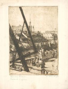 Martin Erich Philipp, 'Blick durchs Atelierfenster', 1912