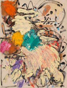 Basil Beattie RA, 'Cream Fall', 1982