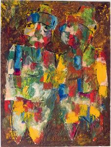 Jovan Obican, 'Two Figures', 1960-1980