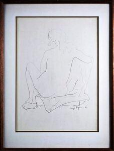George Sugarman, 'Nude', 1951