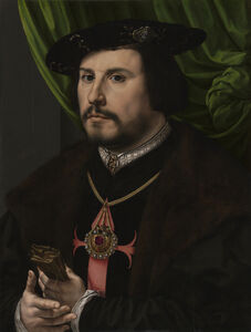 Jan Gossaert, 'Portrait of Francisco de los Cobos y Molina', 1530-1532