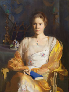 R. H. Ives Gammell, 'Mrs. Richard Cary Curtis (Anita Grosvenor Curtis)', 1920