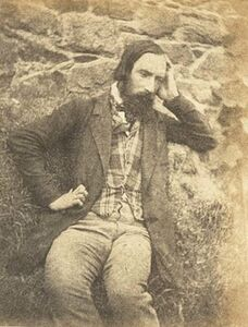 Auguste Vacquerie, 'Auguste Vacquerie (Self-Portrait)', 1853c/1853c