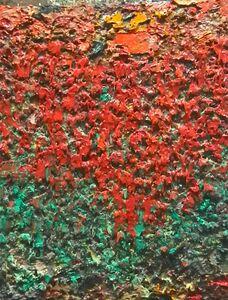 Charles Eckart, 'Red over Green', 2018