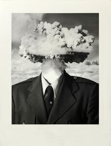 Bruce Conner, 'BOMBHEAD (SMALL FORMAT)', 1989/2002