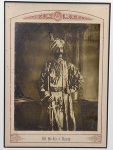 Raja Deen Dayal, 'The Raja of Chamba', ca. 1890