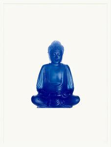 Sarah Charlesworth, 'Blue Buddha', 2005