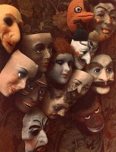 Marie Cosindas, 'Masks, Boston', 1966