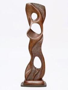 Newell Weber, 'Biomorphic Wood Sculpture', 1950s