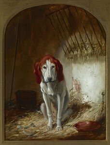 Arthur Fitzwilliam Tait, 'The Hound', ca. 1853
