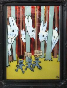 Pure Evil, 'Rabbits On Glass', 2012