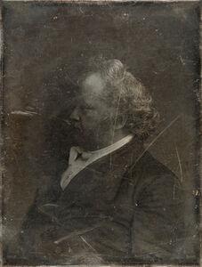 Michael Huey, 'Mr. James Mapes, based on a damaged 1850s/60s Daguerreotype by Mathew Brady', 2019