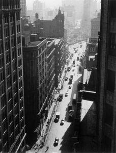 Rudy Burckhardt, 'Broadway Toward Union Square', ca. 1947