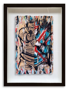 Meggs, 'Captain Britain Where Are You Now?', 2015