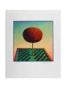 Rudolf Hausner, 'Adam's Tree of Life', ca. 1970