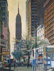 Nagib Nahas, 'Thirty Fourth Street - April Morning', 2020