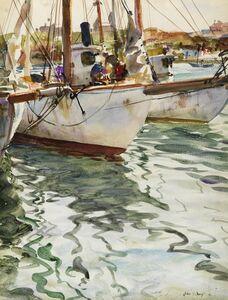 John Whorf, 'Fishing Boats', 1941