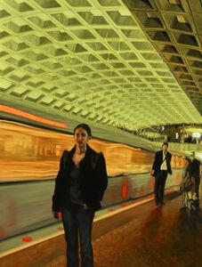 Rosalyn Bodycomb, 'DC Metro XII', 2018