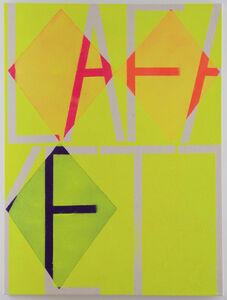John Phillip Abbott, 'Yellow Lafayette', 2013