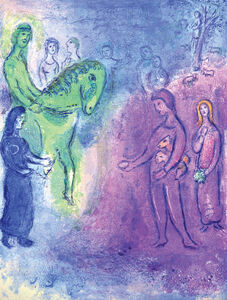 Marc Chagall, 'Arrival of Dionysophanes', 1961