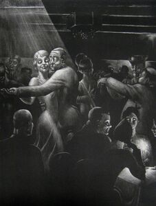 Kyra Markham, 'Nightclub', 1935