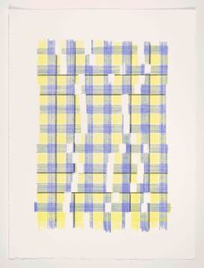 Laura Kaufman, 'Forms Of Normal Matter (Plaid)', 2019