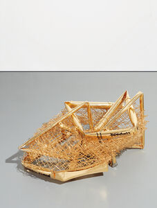 Aaron Young (b. 1972), 'Tumbleweed (Crushed Fence)', 2009