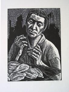 Elizabeth Catlett, 'Pan', 1952-1995