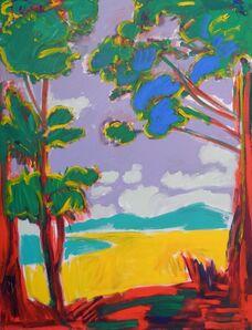 Dick Watkins, 'View of the Lake', 1995
