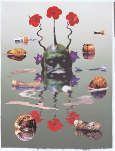 Ashley Bickerton, 'Green Reflecting Head Version No. 2', 2006