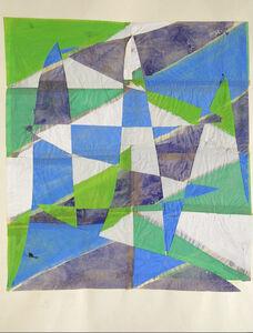 François Rouan, 'Tressage vert', 1967