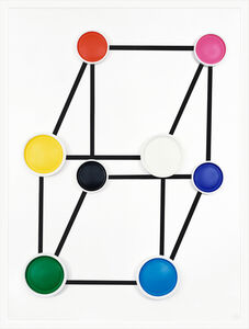 Sarah Charlesworth, 'RGB Cube', 2006
