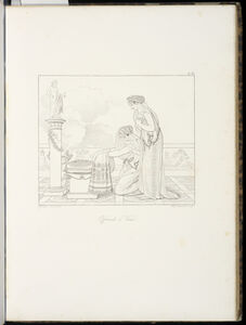 Anne-Louis Girodet-Trioson, 'Offrande … V'nus', 1829