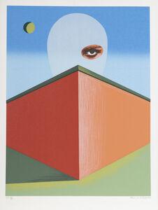 Clarence Holbrook Carter, 'The Watcher', 1977