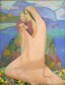 Achsah Barlow Brewster, 'Butterflies', 1917